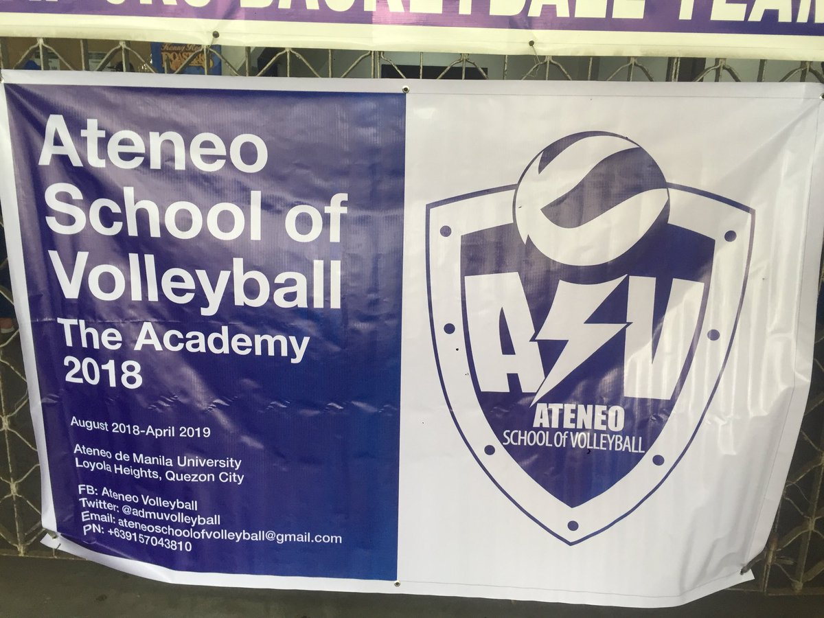LOOK: The first day of the Ateneo Volleyball Academy is currently being held in the Blue Eagle Gym. Members of the public get the rare opportunity to be coached by both players and coaches of @admuvolleyball<br>http://pic.twitter.com/bhyyRct4UW