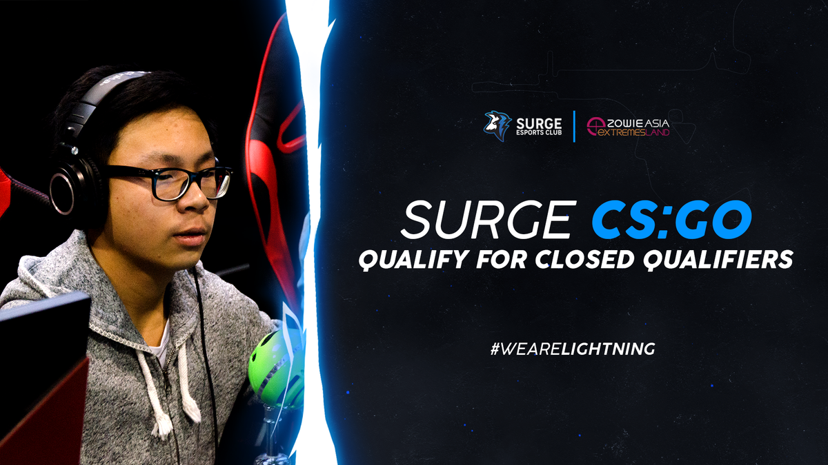 A big congratulations to the #SRGCSGO boys who qualify for the BenQ Zowie eXTREMELAND Closed qualifiers next weekend! They&#39;ll be competing against some of the best teams within the oceanic region.  #WeAreLightning <br>http://pic.twitter.com/MqVgE2k5l0