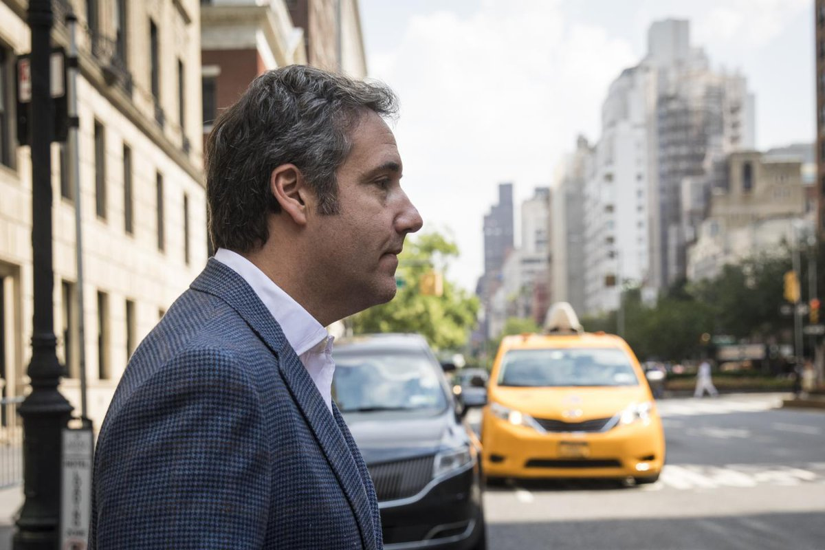 Stormy Daniels payment by Trump lawyer Michael Cohen was related to campaign, new report suggests  http:// bit.ly/2BlsyQt  &nbsp;  <br>http://pic.twitter.com/9OVqmku4XY