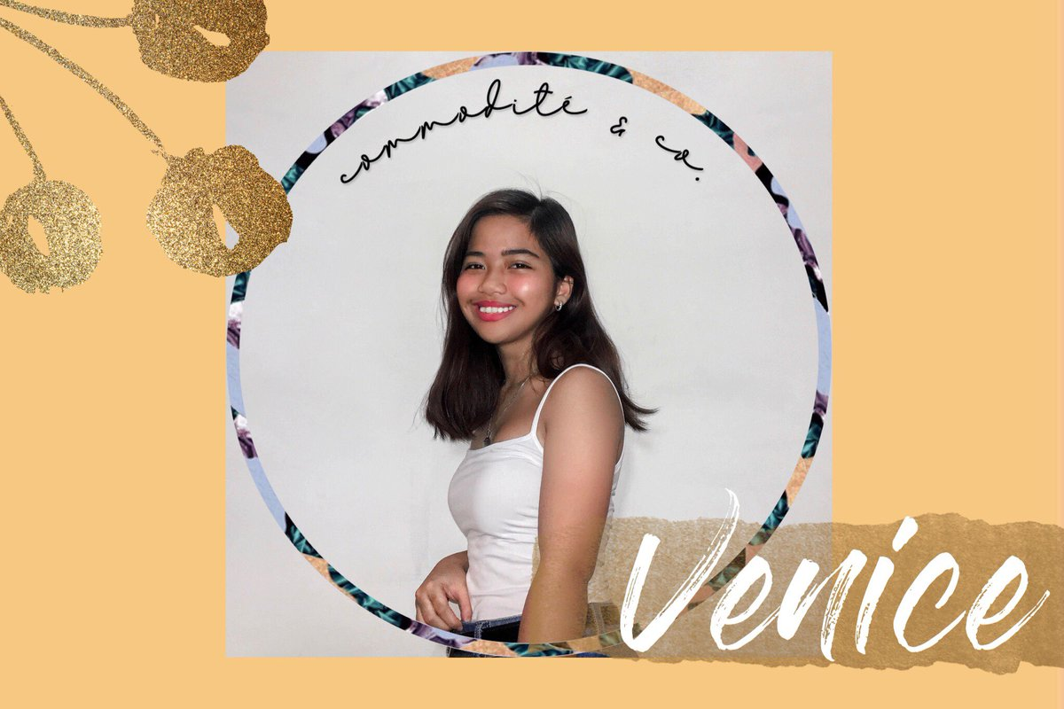 Venice Nieva @venicenievaa  Pink 2018 / UPB freshman   Want to hone your skills as an artist and become as talented as Venice? Who knows, our Vité pouch may come in handy for artists alike who need a push in productivity  <br>http://pic.twitter.com/9ZuMRkYDqg