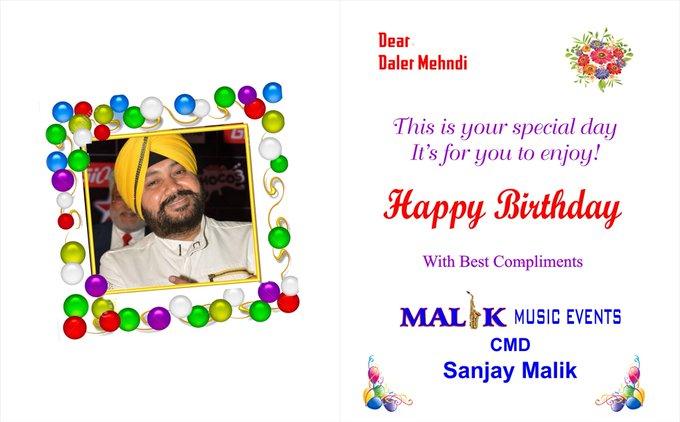 The golden voice singer daler mehndi sahab happy birthday