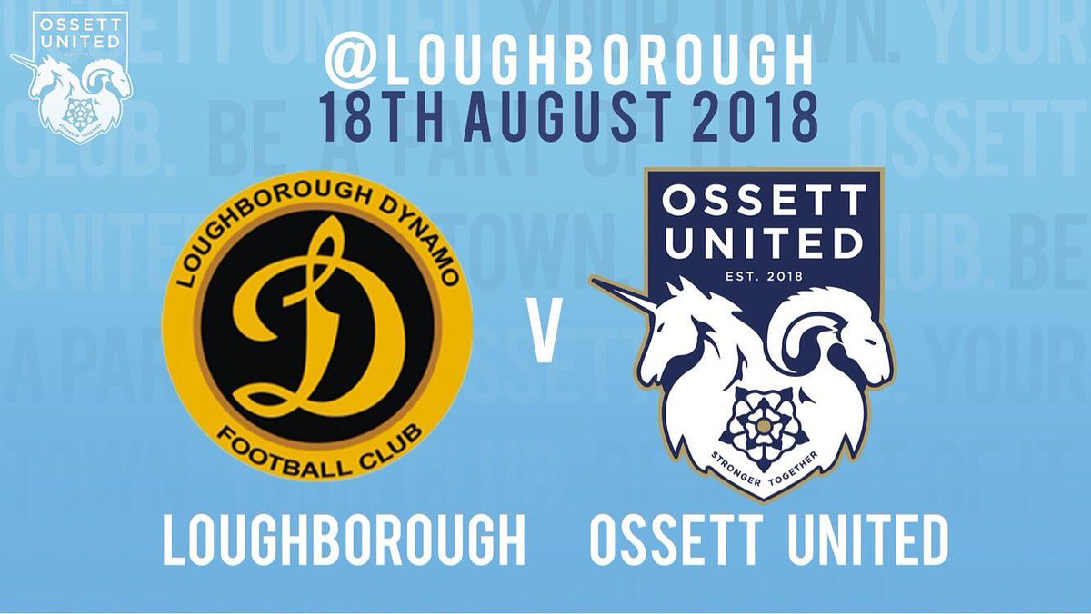 The day is finally here, @ossettunited's first ever competitive fixture - let's start how we mean to go on #StrongerTogether #OUFC<br>http://pic.twitter.com/eim5Y8PwR6
