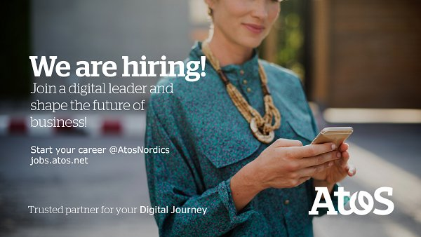 We are hiring in the Nordics! Check out our open positions within #Sales in...