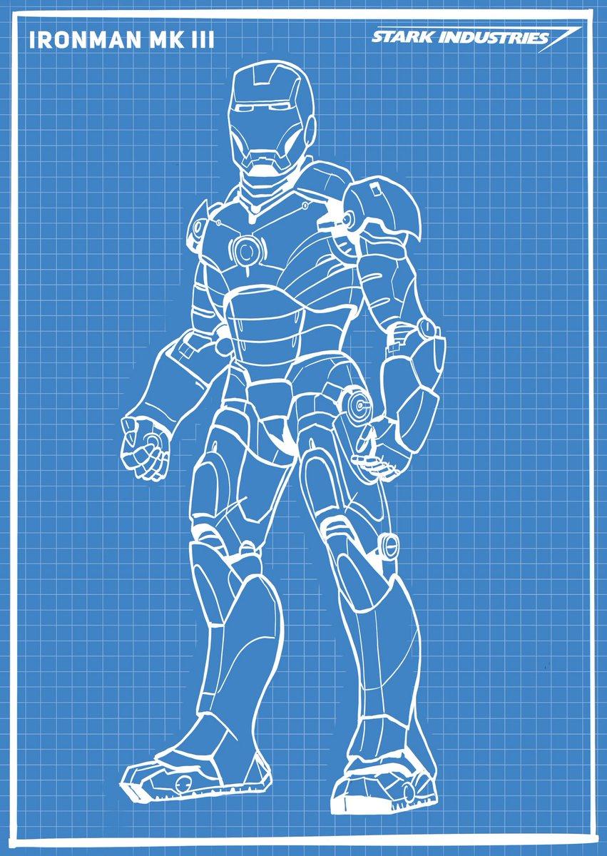 David Maggs Ironman Mk Iii Suit Schematic Made Using Iron Man Schematics Procreate Procreateapp Digitalart Civilwar Marvel Mcu Avengersinfinitywar