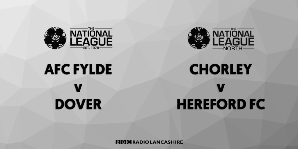 Today's @TheNationalLge and @evostikleague fixtures    #bbclancssport #bbcfootball<br>http://pic.twitter.com/TuCyCRw2Qr
