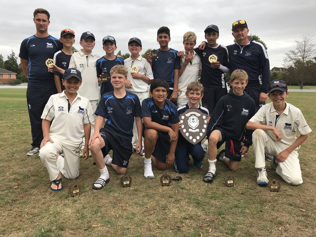For those waking up, who haven't heard the news... The U11 boys have won the 2018 Taunton Festival! The U11s chased down 186/4 to beat Kent. This is the first time ever that we've won it at this age group - ahead of Kent, Lancashire, Leicestershire and Barbados! #Champions<br>http://pic.twitter.com/a7hpEUNypu
