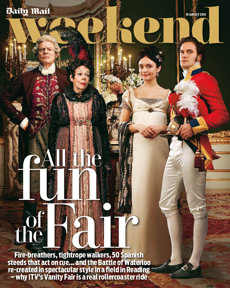 Vanity Fair, une nouvelle adaptation (ITV / Amazon) - Page 2 Dk3muGpW0AIEGQ3