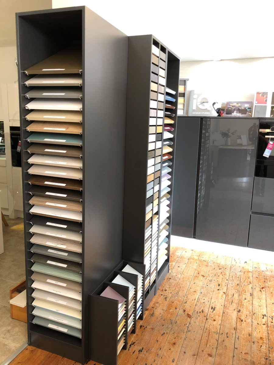 Just in! Caledonia kitchens samples have now arrived in our showroom. With over 60 door samples in a range of different styles and colours. Plus over 80 worktop samples available too! We can wait to show this range off to our customers. Pop in and see us! <br>http://pic.twitter.com/YIjXSpoY8n