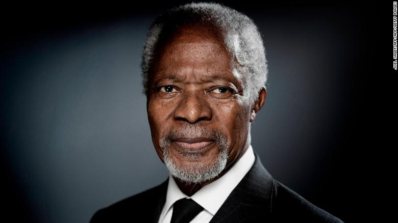 Kofi Annan, the first black African to lead the United Nations, has died at age 80 https://t.co/av0HMc6bk6