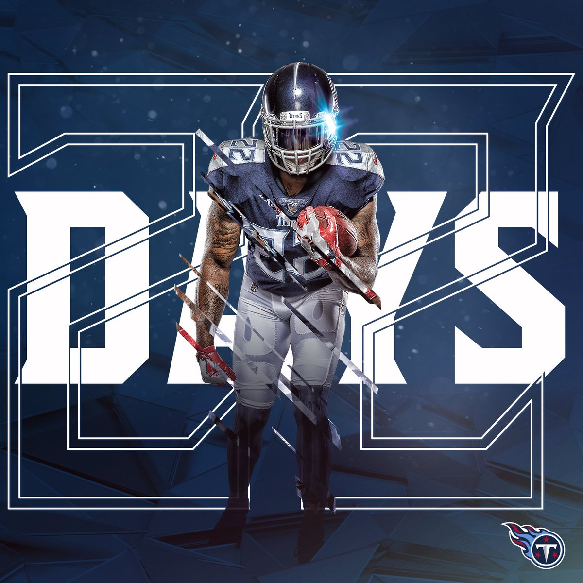 We're @KingHenry_2 days away from the season opener. 🚜 #TitanUp