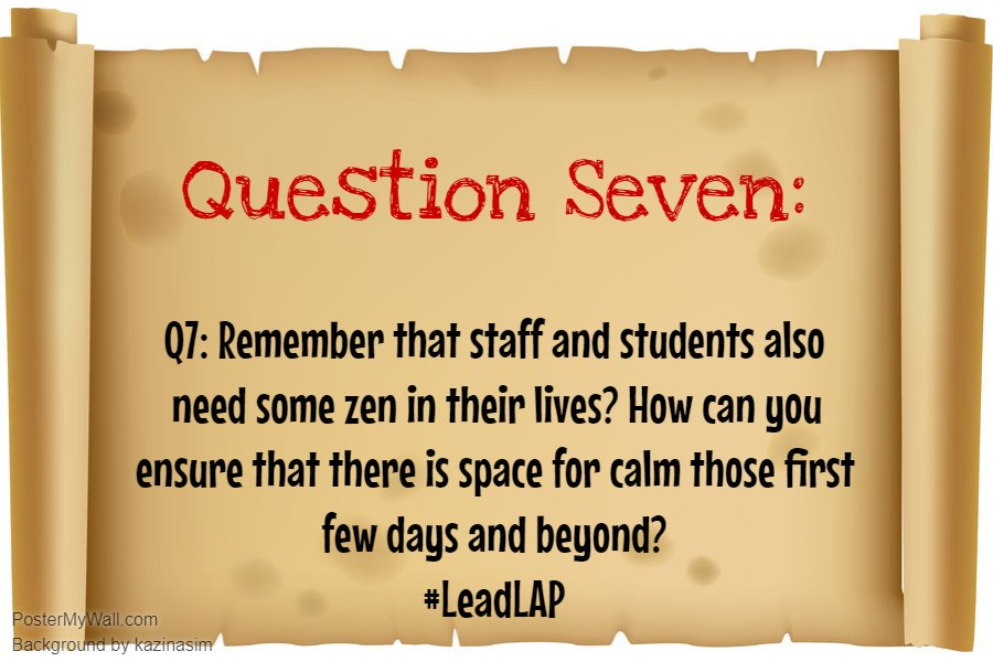 Q7: Everyone needs a little #ZenPirate in their lives. #LeadLAP @burgess_shelley