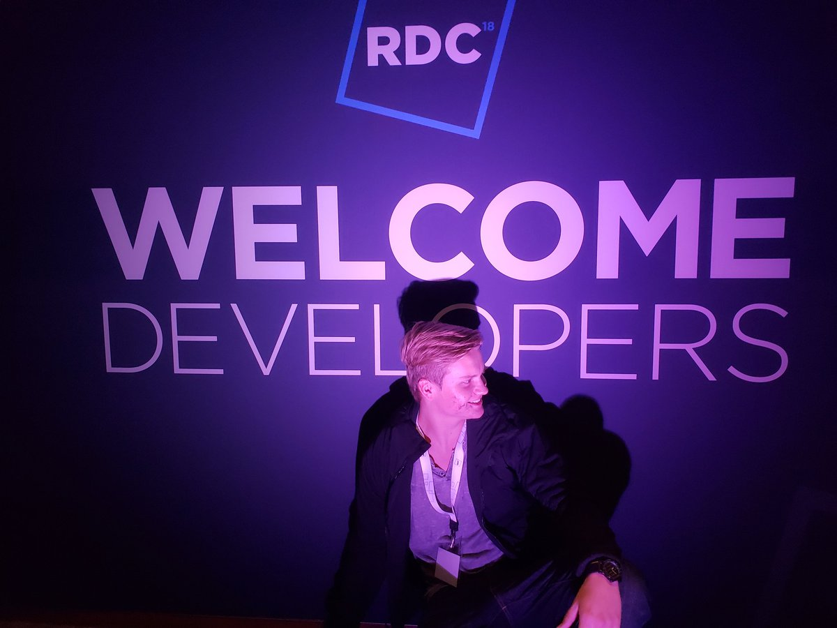 Im really enjoying this #RDC2018 in Amsterdam, did a monetization talk with @berezaagames and a business talk with @Imaginaerume and @WslyRBLX.