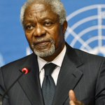#KofiAnnan Twitter Photo