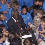 Image for the Tweet beginning: Kofi Annan was a guiding