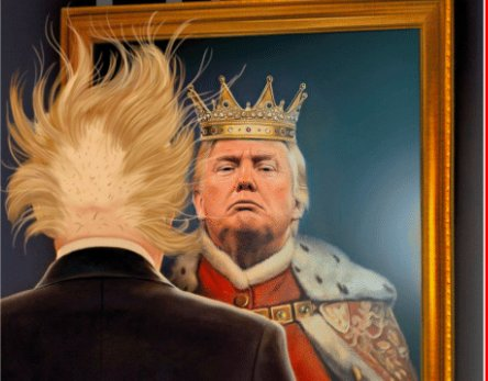 We Literally Had A War About This There Was King Involved Won Dont Need Another Trump Is Not Saturdaymorning AMJoy
