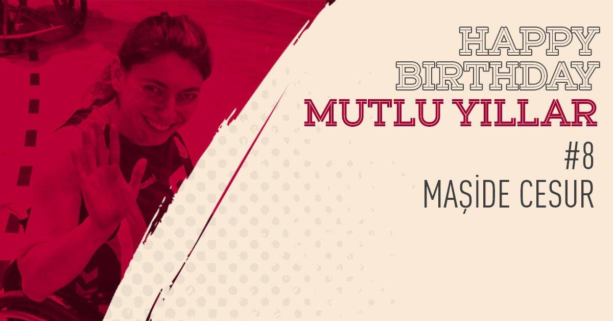 Mutlu yıllar, @MasideCesur!🎂