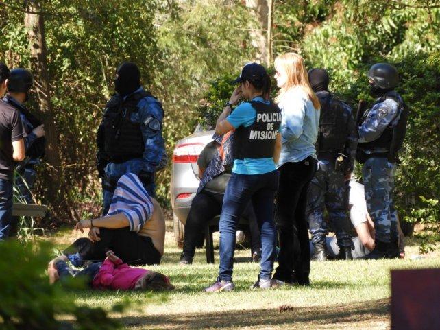 Los paranaenses detenidos en Posadas con un sicario dicen que fueron a comprar ropa