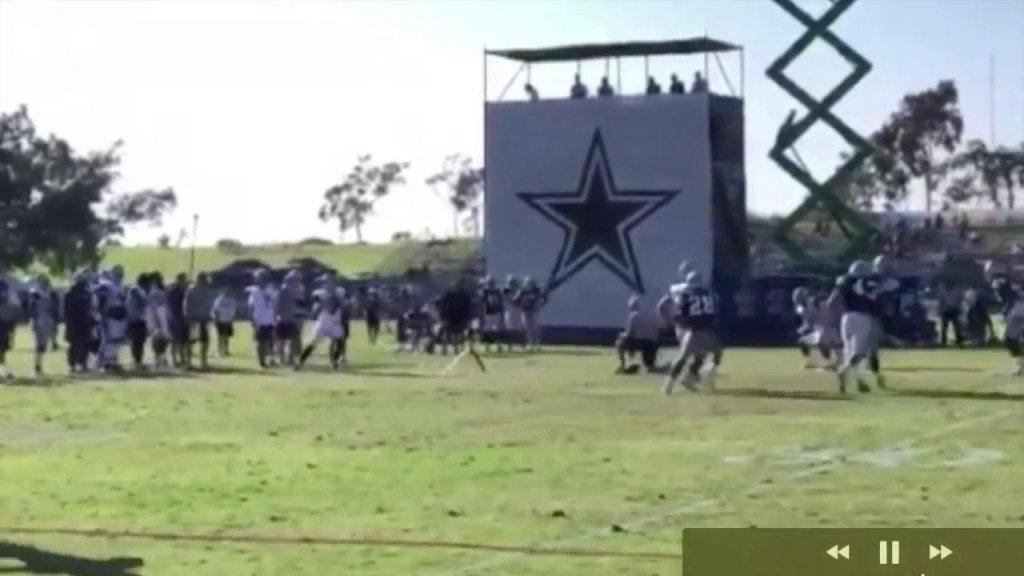 Dallas Cowboys Training Camp Highlights Part 5 || Rico Gathers Shines || Wr/Te vs Db || – DallasVideo  https:// dallasinformer.com/302982/dallas- cowboys-training-camp-highlights-part-5-rico-gathers-shines-wr-te-vs-db-dallas-video/ &nbsp; … <br>http://pic.twitter.com/HHDxhthxvC