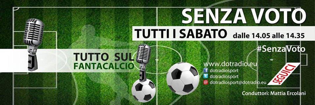 #SenzaVoto - #PRIMA #PUNTATA - http:// www.dotradio.eu (anche in AM sui 1602 KHZ in Provincia di Perugia )#OnAirNow#Probabiliformazioni #fantacalcio #scommesse #dotradiosport@DOT_Radio @DotRadioSport #sabato #iniziostagione  - Ukustom