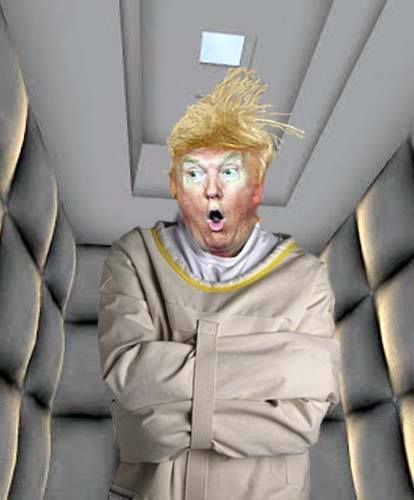 &quot;SPACE FORCE. HAHAHAHAHAHA, I have the best words. SPACE FORCE. HAHAHA. I have a very good brain. SPACE FORCE. I&#39;m a very stable genius. BWAAHAHAHA. I&#39;m really rich. SPACE FORCE...&quot; <br>http://pic.twitter.com/1mLybMcrQT