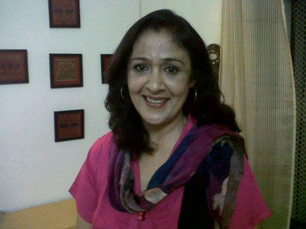 Actress Sujata Kumar