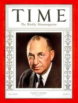 1940 : Walter Percy Chrysler Dies, Founder of the Chrysler Corporation