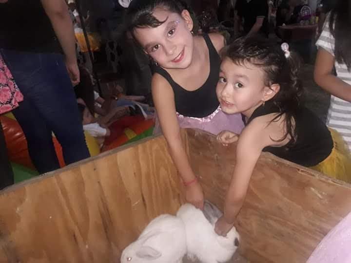 #EsteFinde mis princesitas Emmita y Guillerminita ❤❤