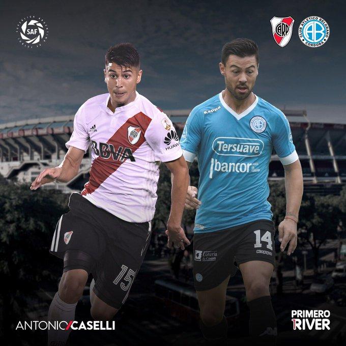 Que la vuelta al Monumental sea con nuestro primer triunfo en la Superliga. ¡Vamos River! Foto