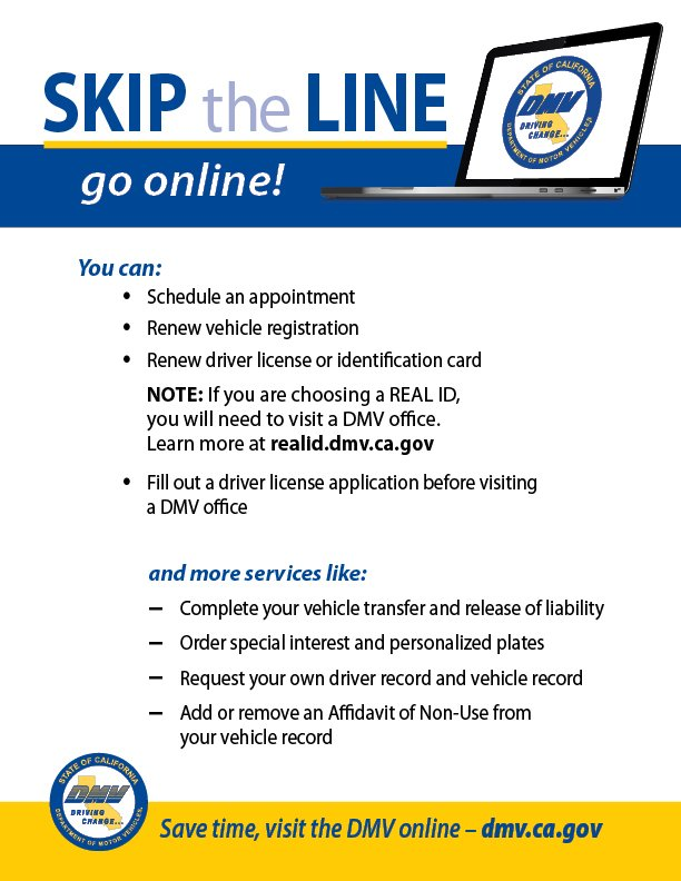 Pay Registration Online Ca >> Ca Dmv On Twitter Skip The Line You Can Renew Your
