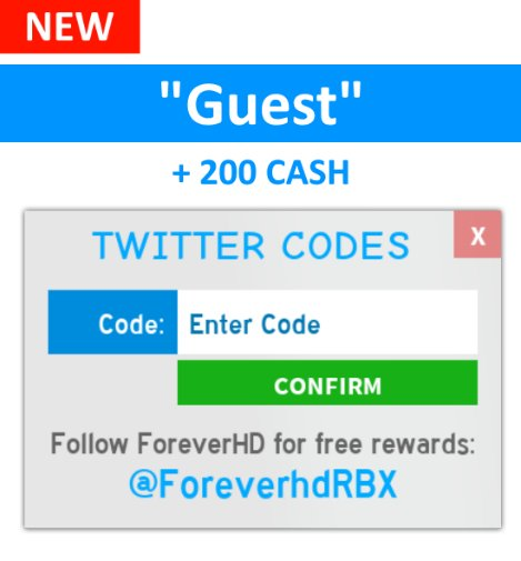 Ben On Twitter New Code For Guest World Enter The Code