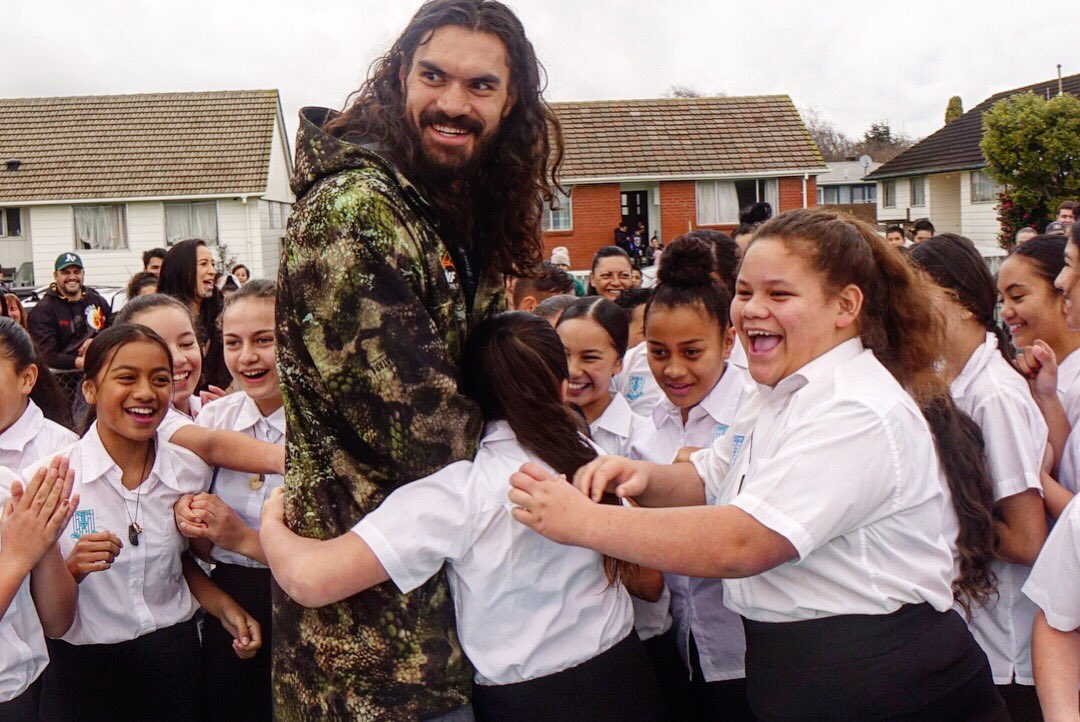 """""""It's for our babies, all the kids.""""  Dedicating NZ's first Steven Adams outdoor court �� https://t.co/1llgeIFwhr"""