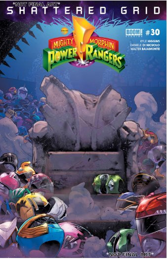 The team up between every Ranger left standing against the unrivaled power of Drakkon, while a covert team led by Grace embarks on what might be their last mission ever. Check out the preview pages for @boomstudios Mighty Morphin Power Rangers #30! ow.ly/9YdX30lrXcf