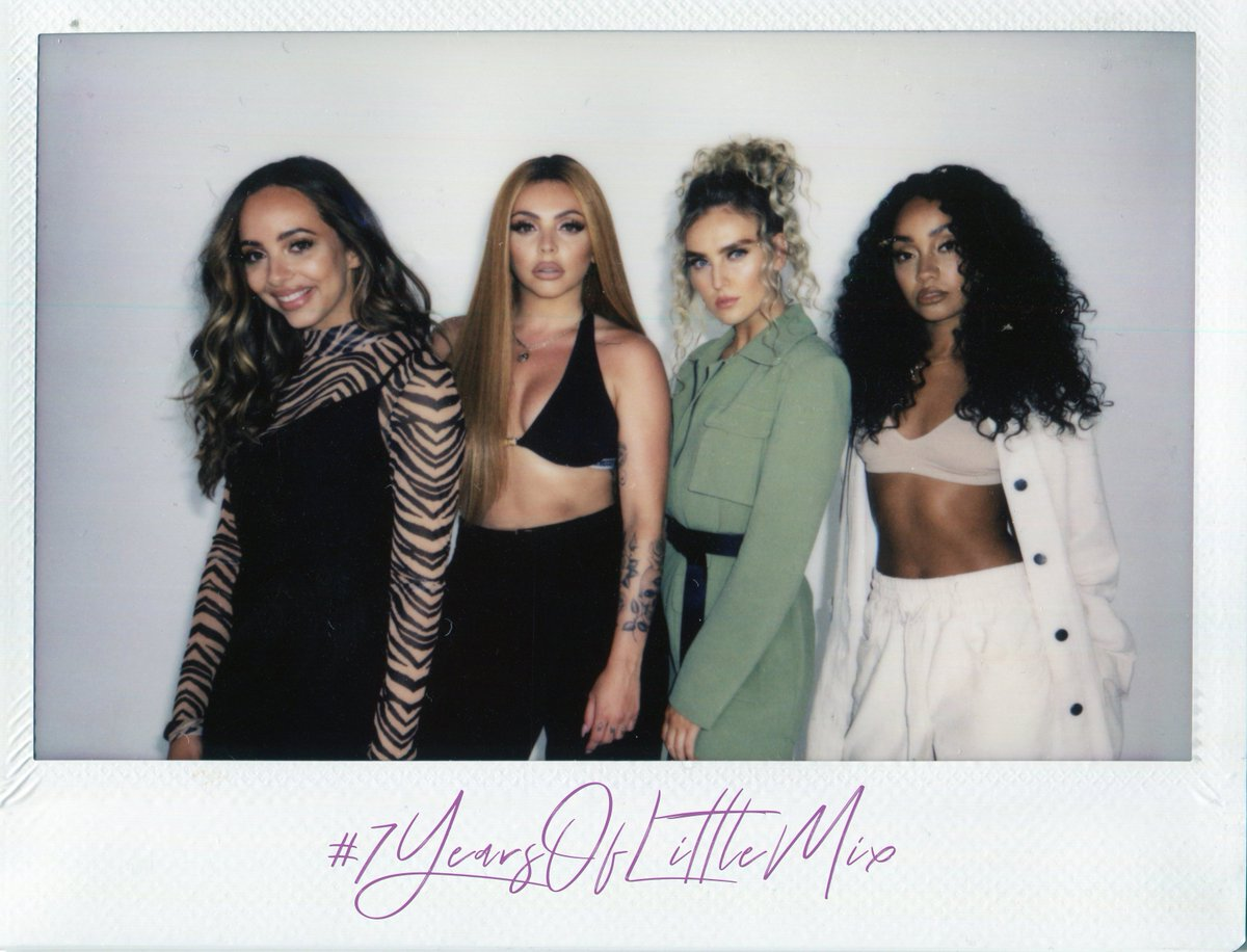 #7YearsOfLittleMix...What an adventure it's been!! It feels so amazing knowing we're on this journey together, (yes we're talking about YOU) It feels like a dream that we get to do what we do every day! Oh and yeah, #LM5IsComing 🙌🏽 We love you X the girls