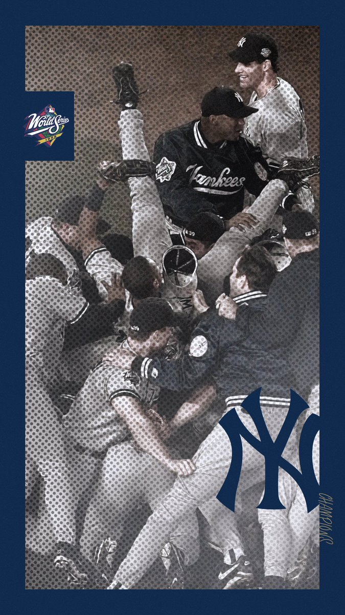 "New York Yankees on Twitter: ""We waited 20 years to drop these mobile wallpapers:… """