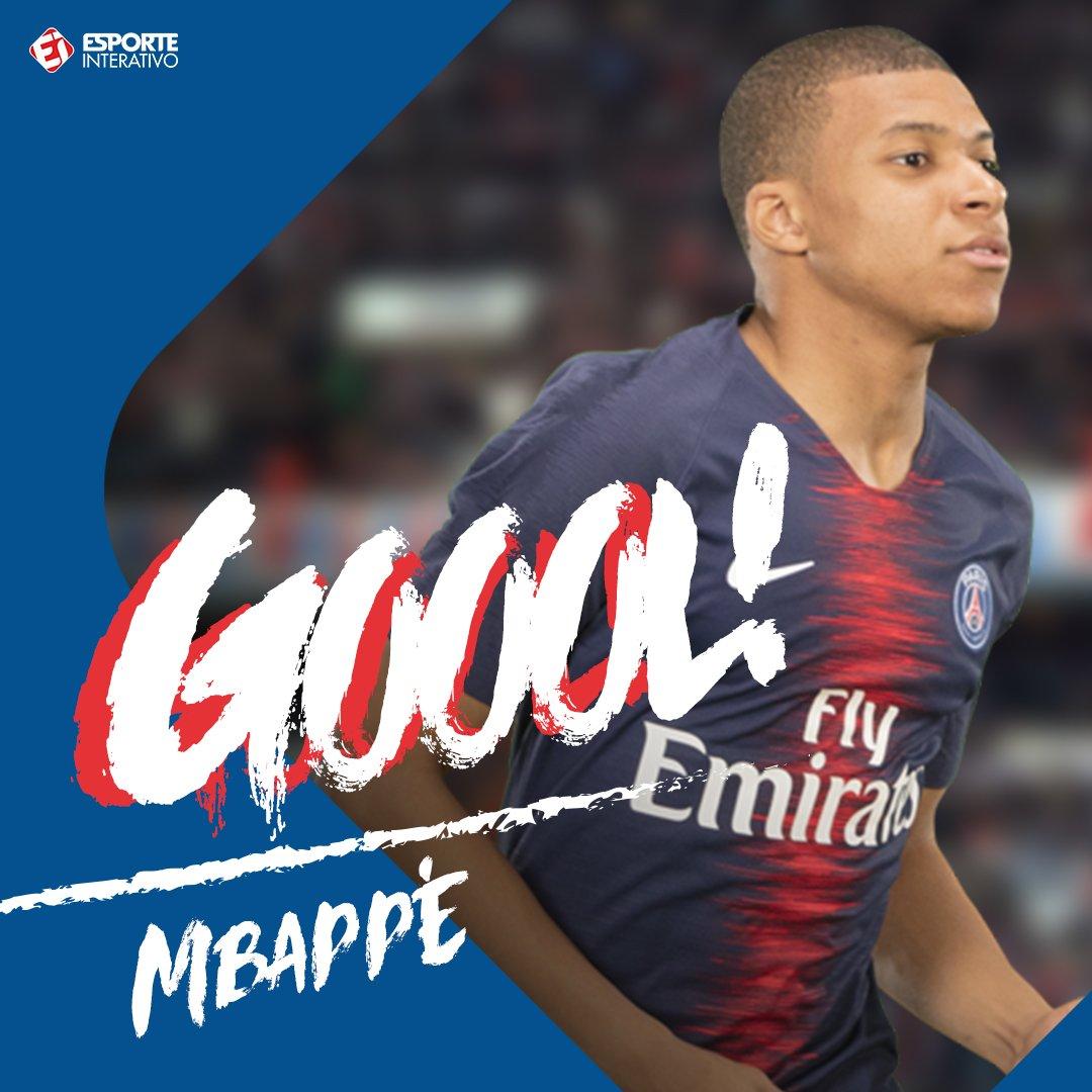 GOOOOOOOOOOOOOOOOOOOOL DO @PSGbrasil! @KMbappe amplia para o atual campeão francês! Guingamp 1 x 3 PSG! https://t.co/HO70rSGxV4