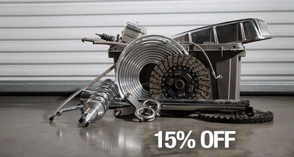 "Speedway Motors on Twitter: ""Ends today! 15% off garage sale items with promo code: GSALE15. https://t.co/bCdcfWzuAN… """