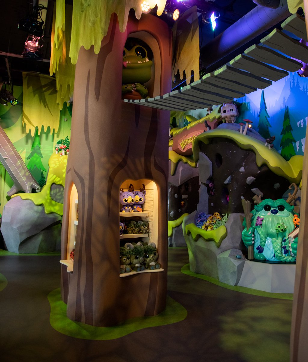Welcome to #WetmoreForest at #FunkoHQ!