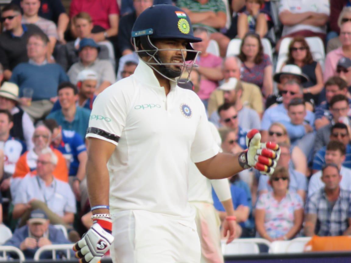 England vs India, Rishabh Pant