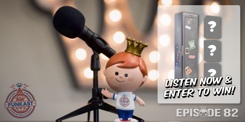 ICYMI : The latest #FunkoFunkast (Ep 82) is here. Listen now for your chance at a Funko Shop exclusive Box of Fun!! 📦 🎧 funko.com/blog/article/f… - also on iTunes, Google Play & SoundCloud