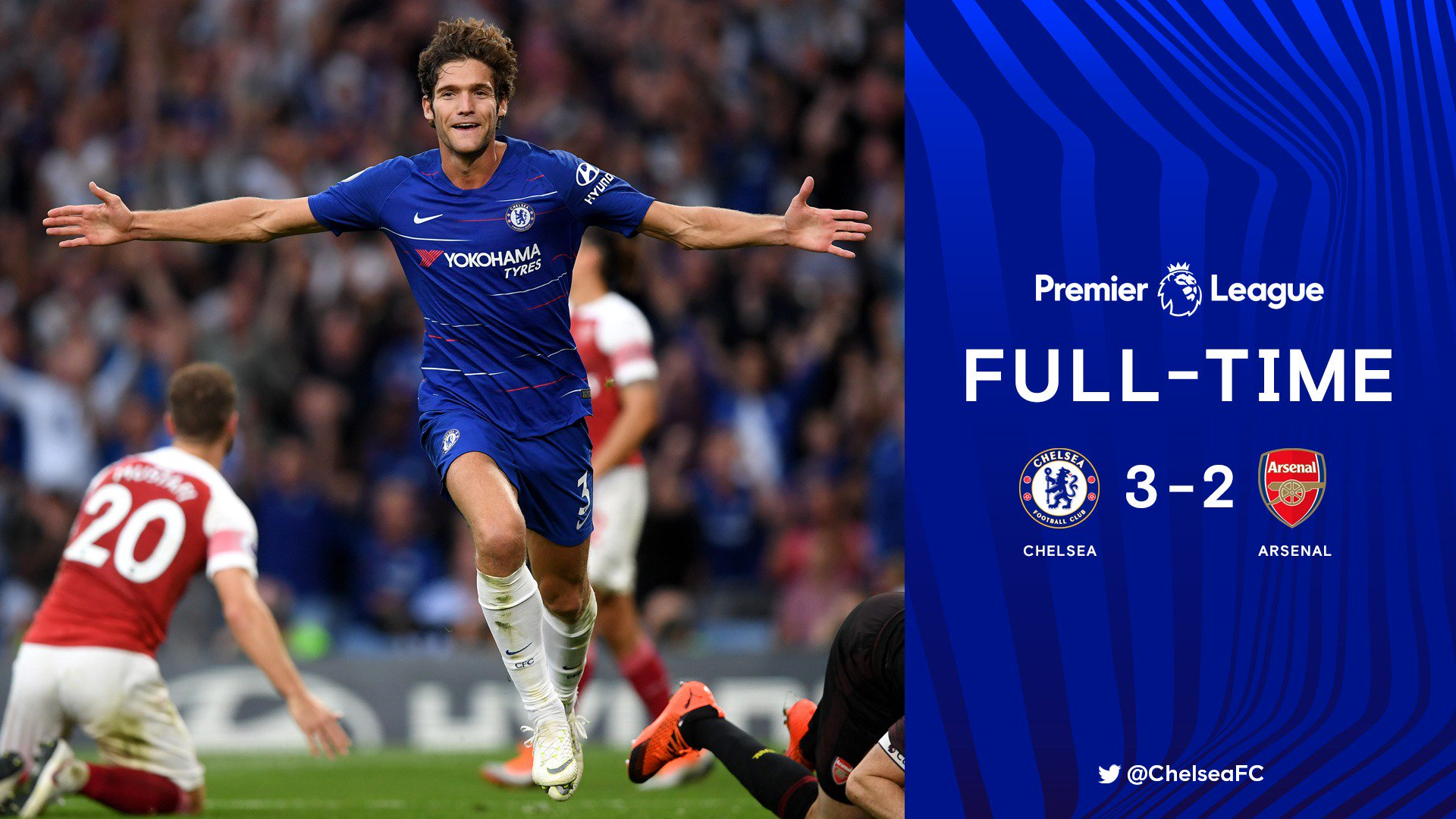 Chấm điểm Chelsea 3-2 Arsenal