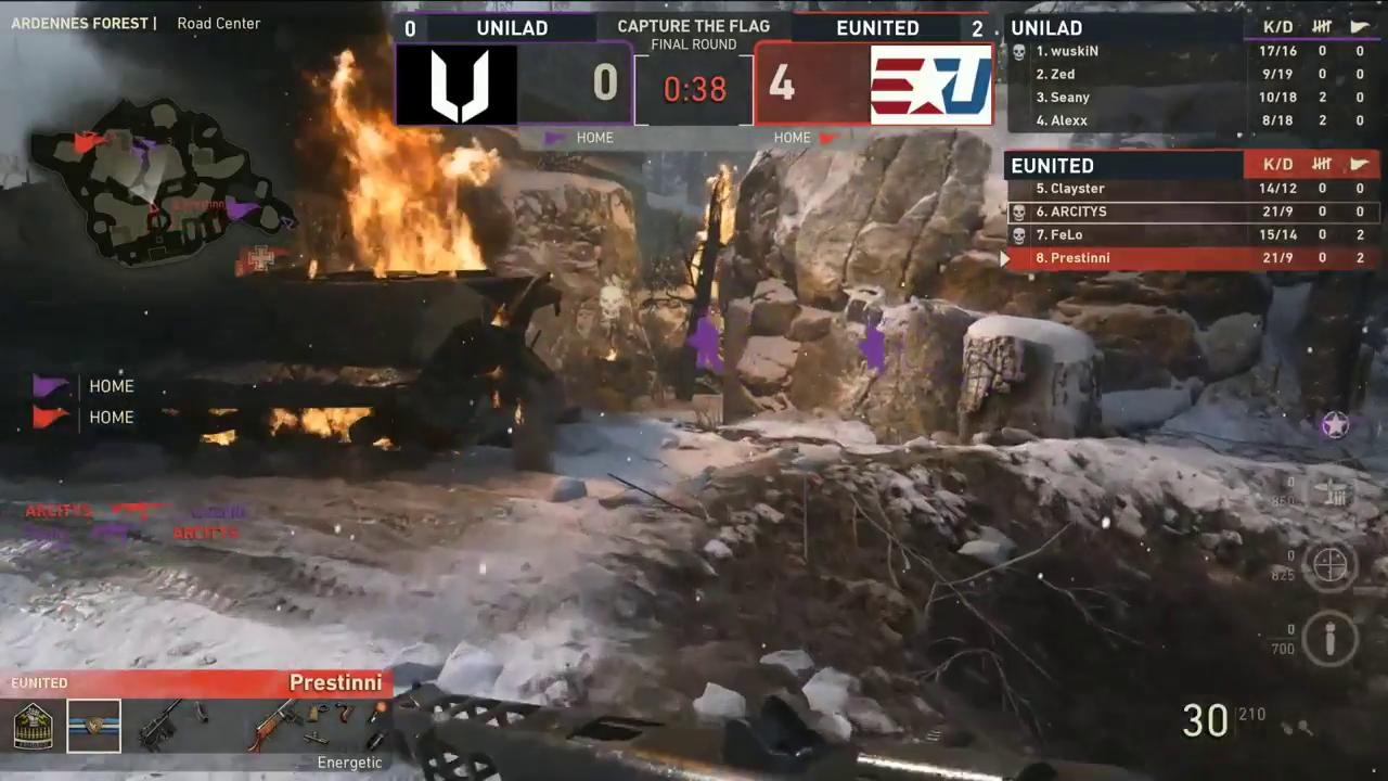 .@eUnitedgg SWEEP @UNILADEsports and @Clayster lets 'em KNOW!  https://t.co/pUVEvOiNYf // #CWLPS4 #CWLChamps https://t.co/JXhq0gdl0N