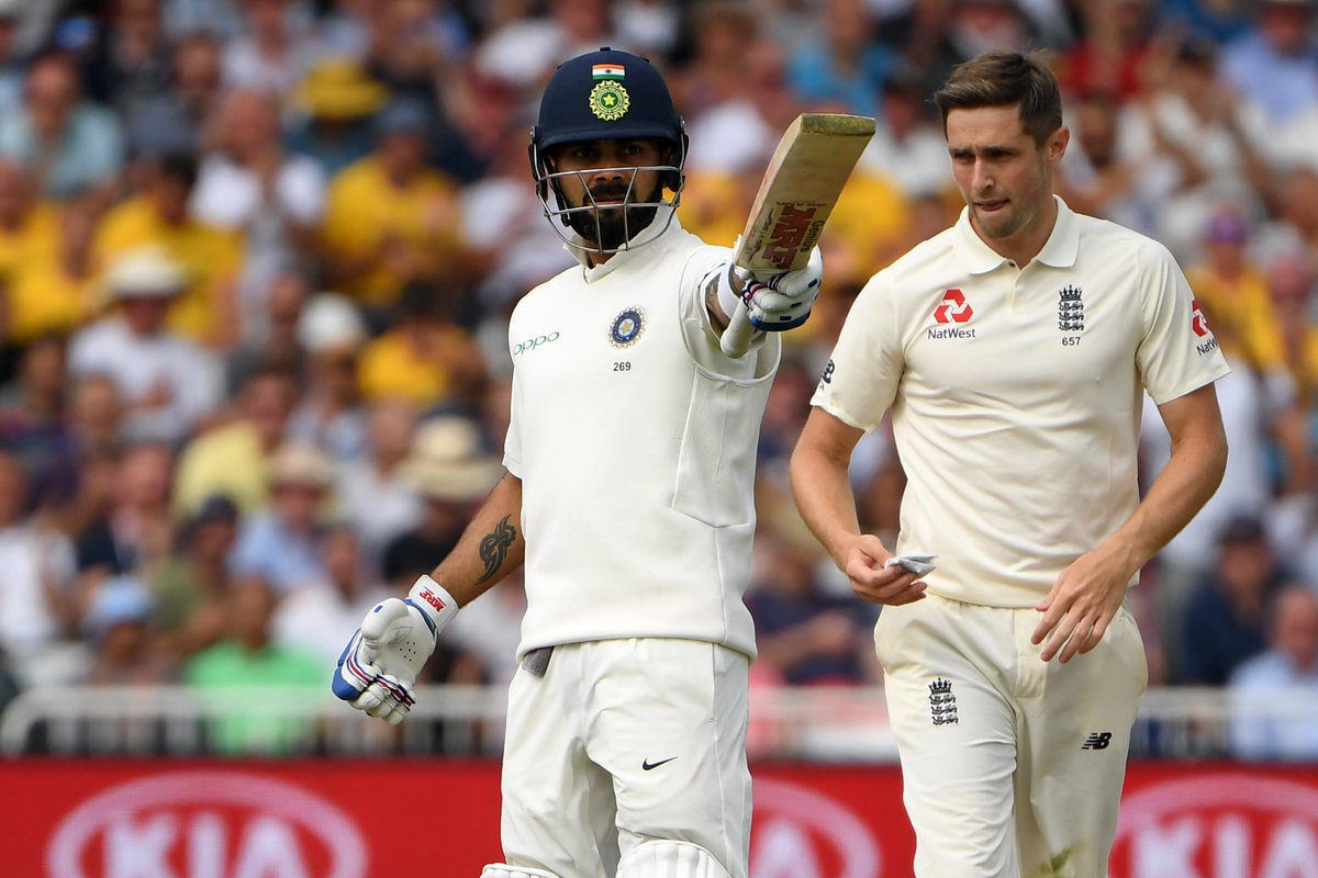 #INDvsENG - Kohli and Rahane help India to put a decent total on Day 1