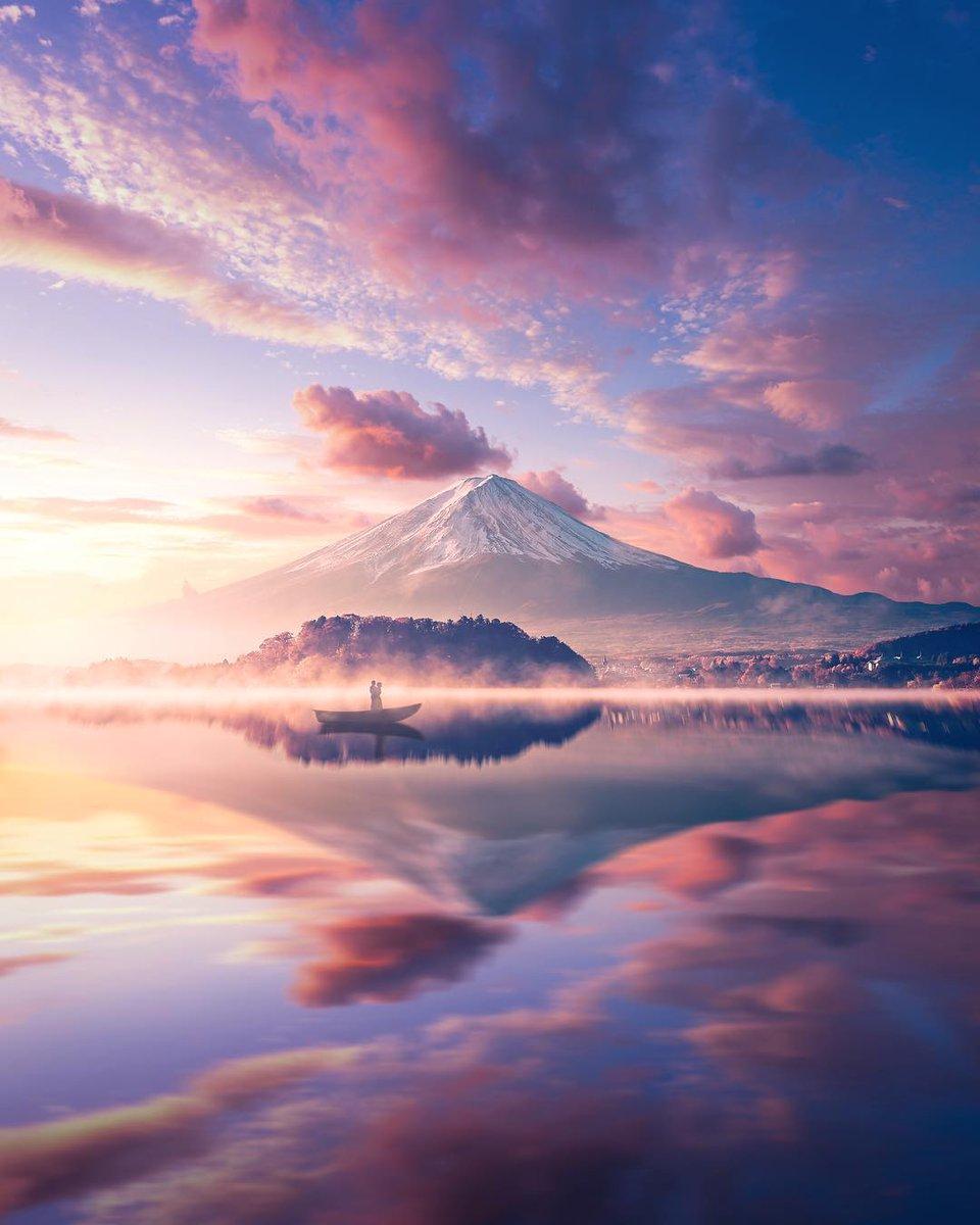 Mount Fuji | by Anna McNaught