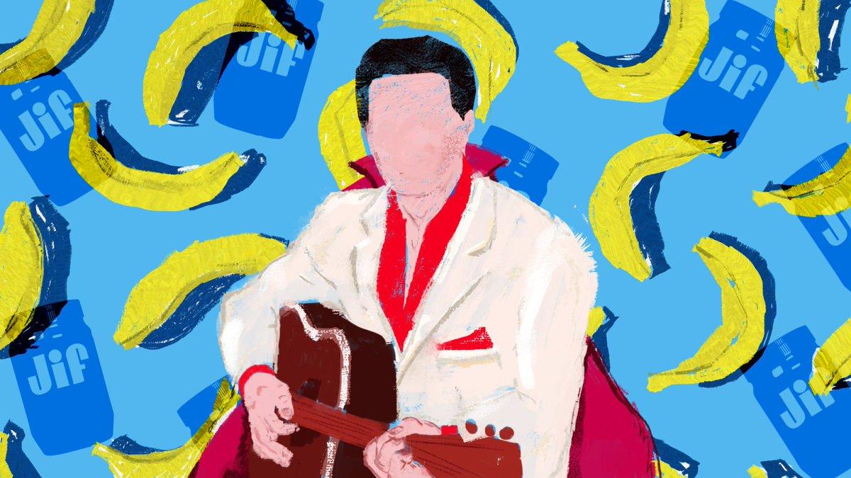 Elvis Presley's peanut butter-banana-bacon sandwich might be the greatest celebrity recipe trib.al/CY2YuIS