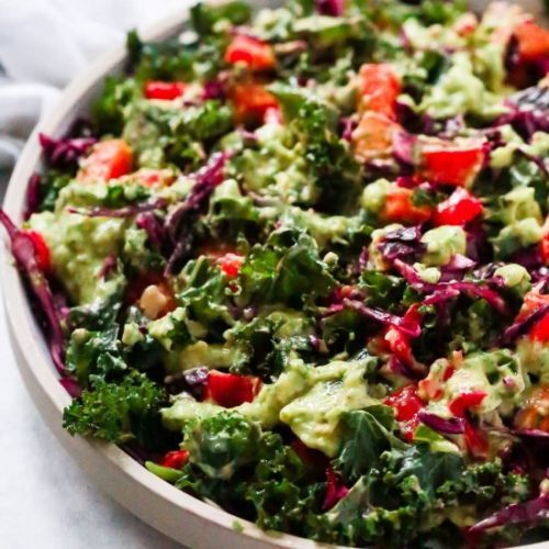 Recipe> Gluten Free> Kale Salad with Avocado Dressing > Tis sal... https://t.co/ufvLdLp8wi #recipes https://t.co/VbhtNbrTpq