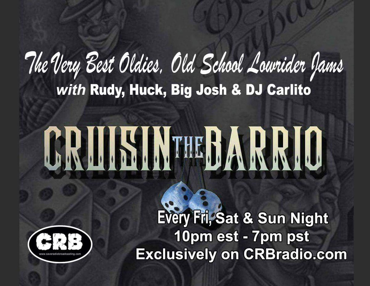 Tonight we are live 10 p.m. Eastern Standard 7 p.m. Pacific West Coast exclusively on  http:// CRBradio.com  &nbsp;   @RealCaveRadio  @ozomatli  @georgelopez  @gothominc  @icp  @vanillaice<br>http://pic.twitter.com/BNJPHiFkd3