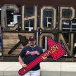 Where are you cheering on the Braves tonight as they play against the Rockies? #ChopOn https://t.co/lawlcpDFqD | Photo by votanoel2020