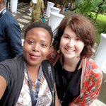 Image for the Tweet beginning: @ClaireWathen and I @TEDxLagosng ,