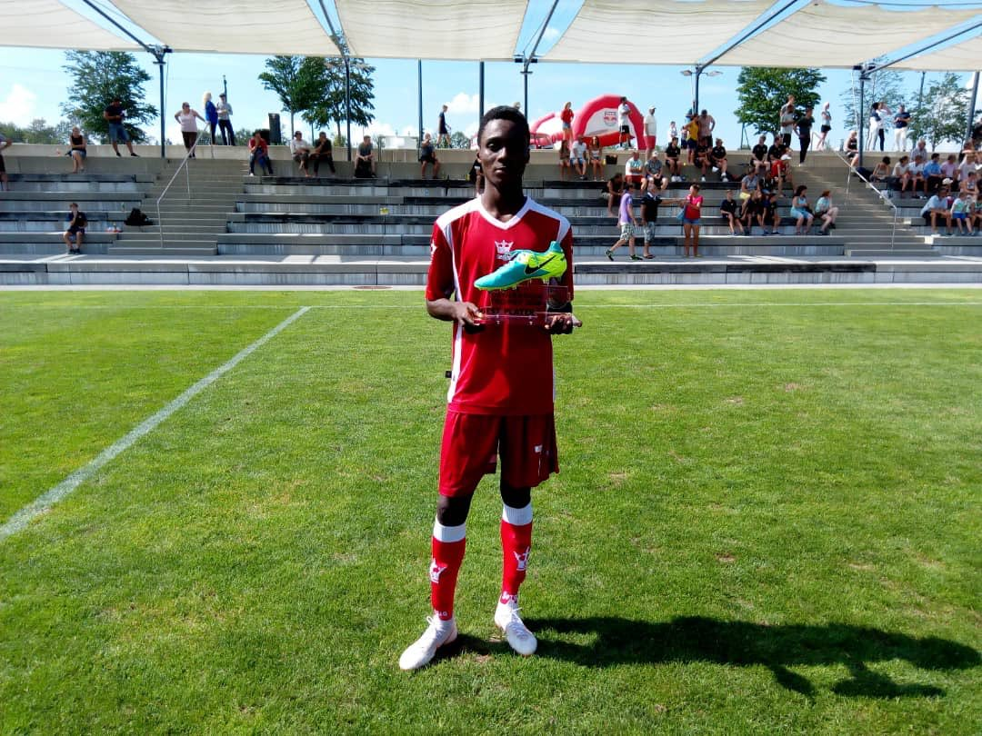 Daniel Owusu wins Best Player Award at 2018 Next Generation Trophy