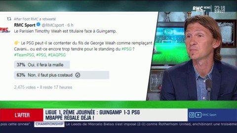 🔵🔴 🔊 Piocelle : Paris na pas besoin dun autre remplaçant à Cavani que Timothy Weah 💥 #rmclive #TeamPSG #PSG #EAG